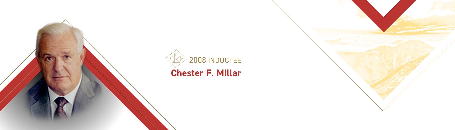 Chester F. Millar (1927 –    )