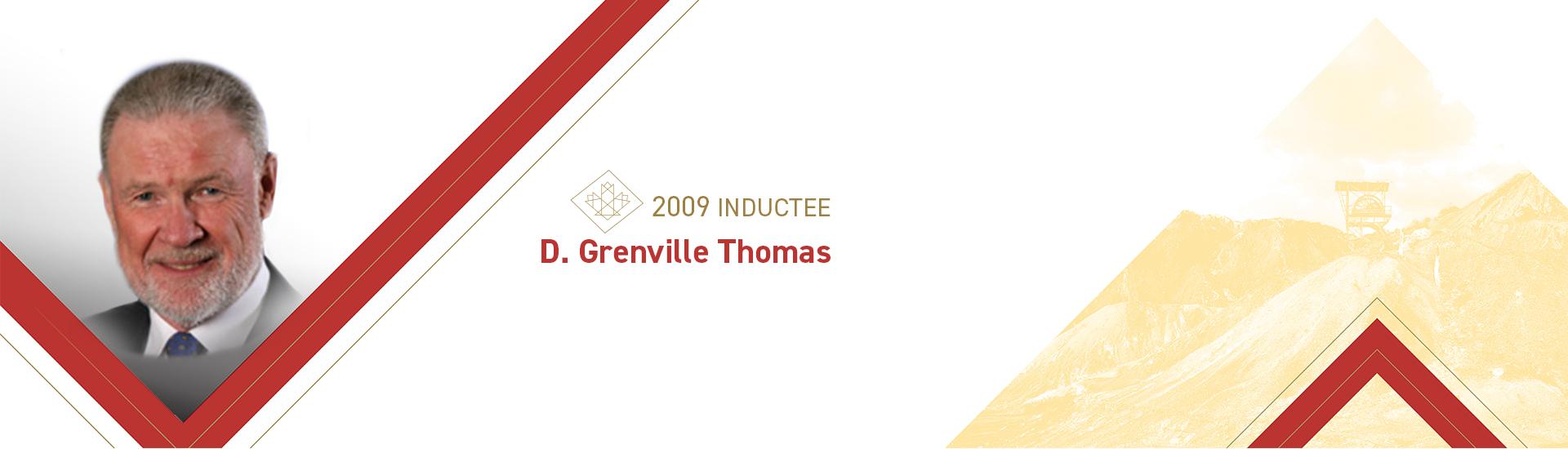 D. Grenville Thomas (b. 1941)