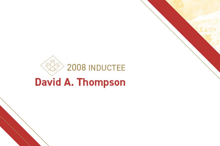 David A. Thompson (b. 1939)