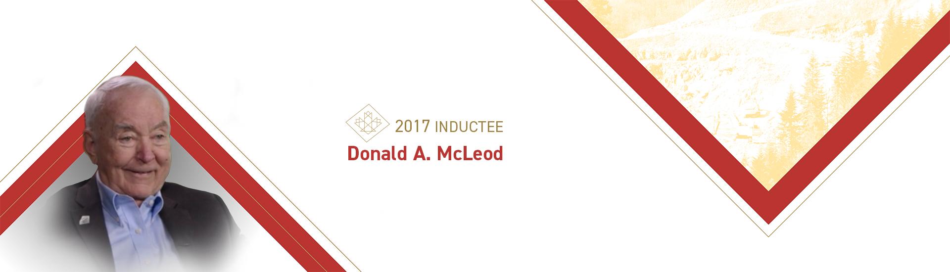 Donald A. McLeod (1928 – 2017)