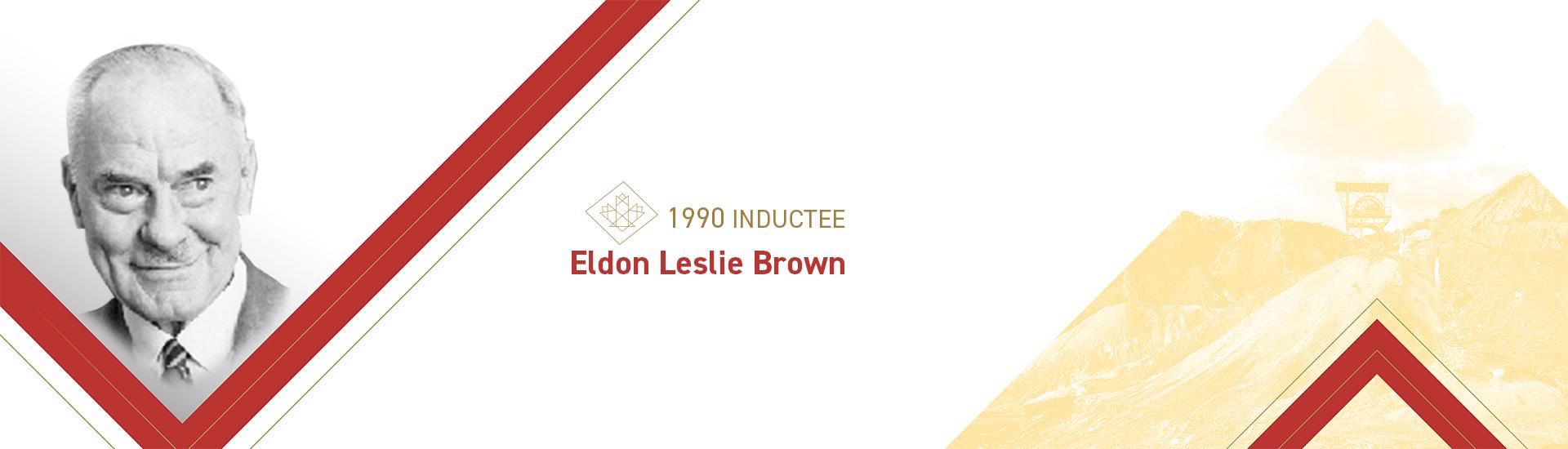 Eldon Leslie Brown (1900 – 1998)