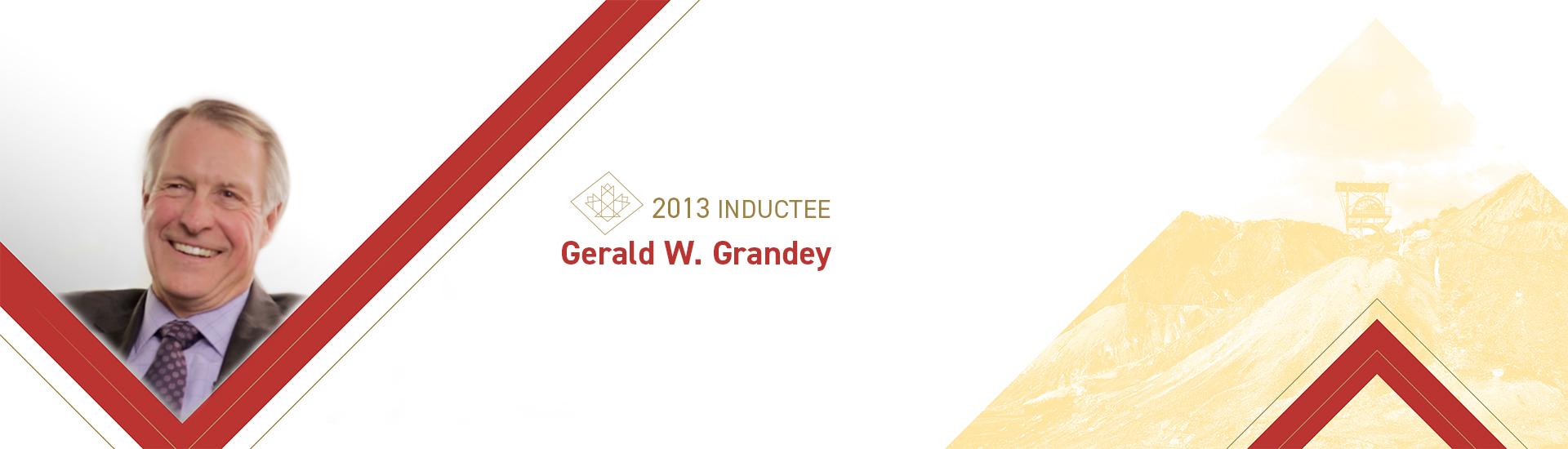 Gerald W. Grandey (1946 –    )