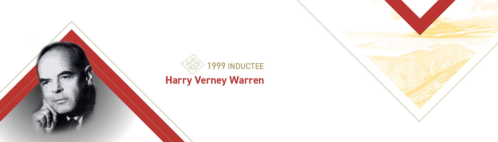 Harry Verney Warren (1904 – 1998)