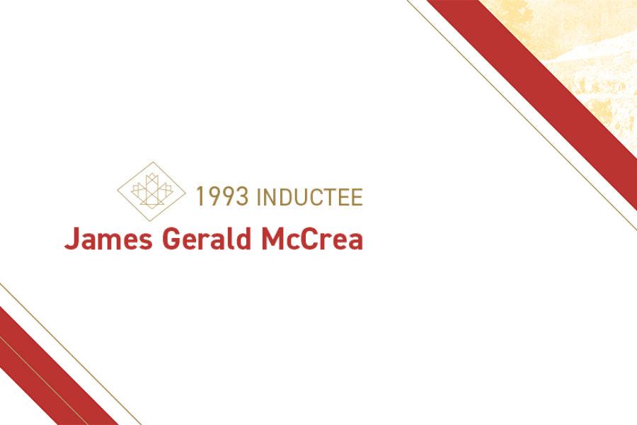 James Gerald McCrea (1898 – 1953)