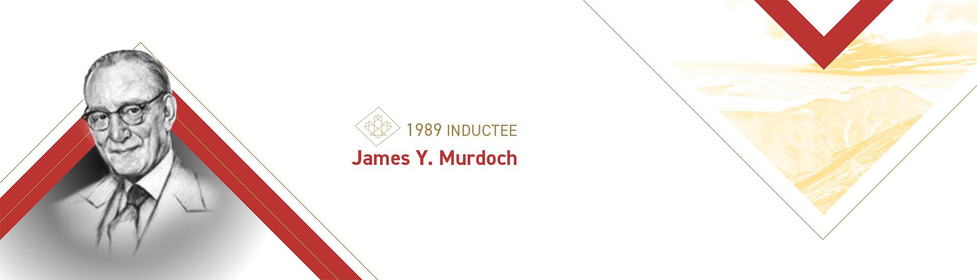 James Y. Murdoch (1890 – 1962)