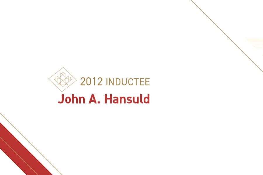 John A. Hansuld (1931 – 2019)