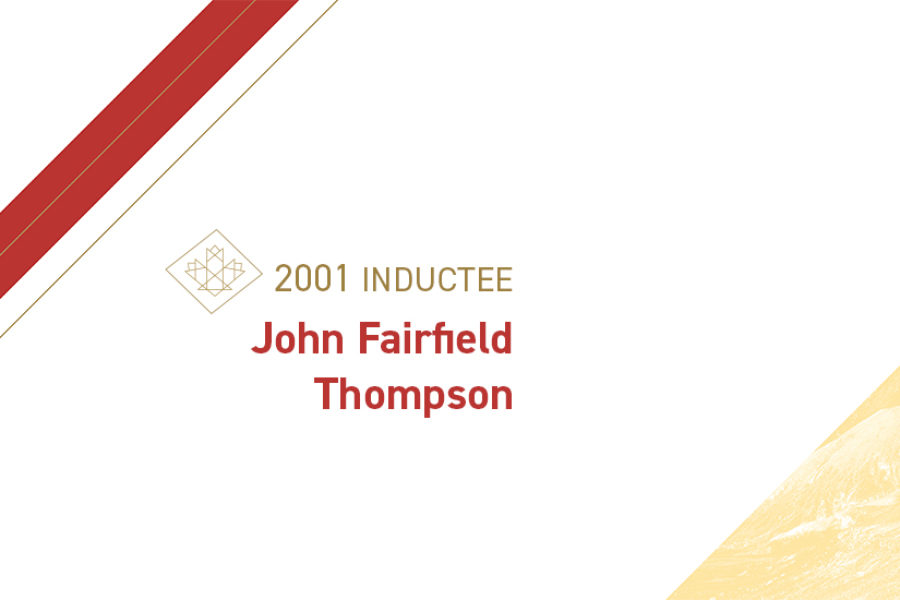 John Fairfield Thompson (1891 – 1968)