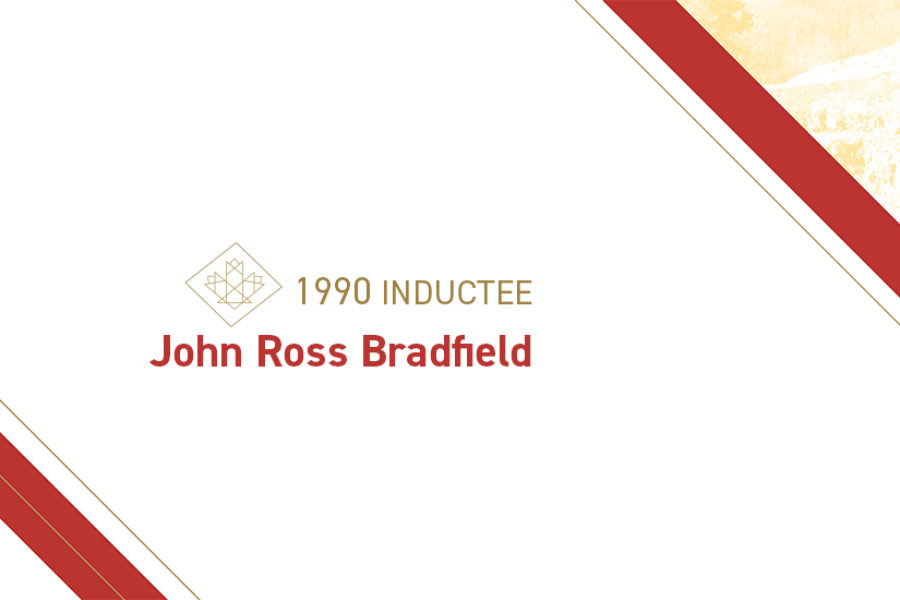 John Ross Bradfield (1899 – 1983)