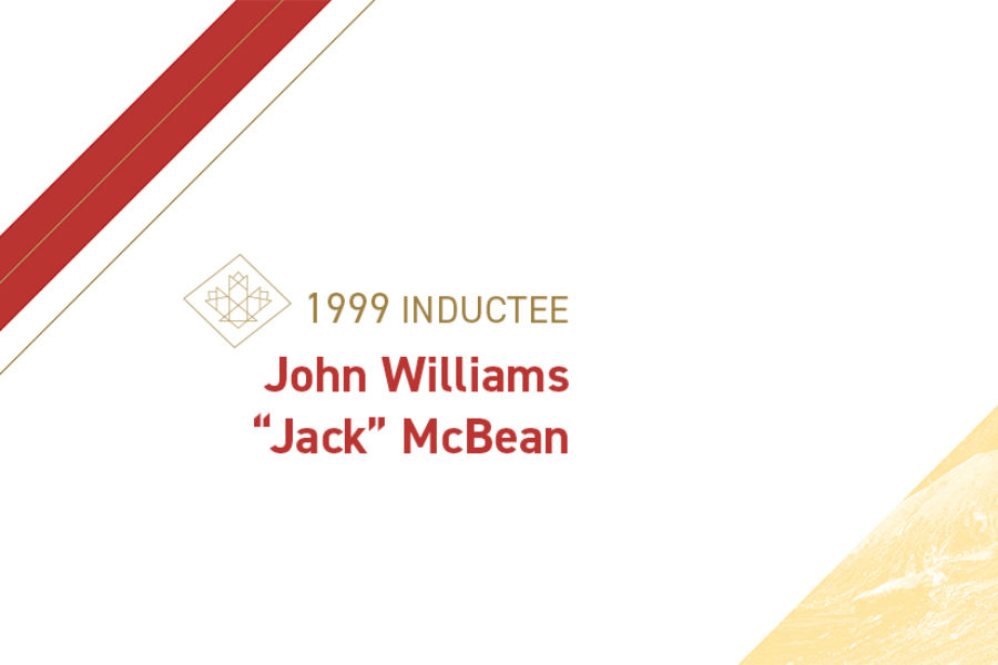 "John Williams ""Jack"" McBean (1913 – 1973)"