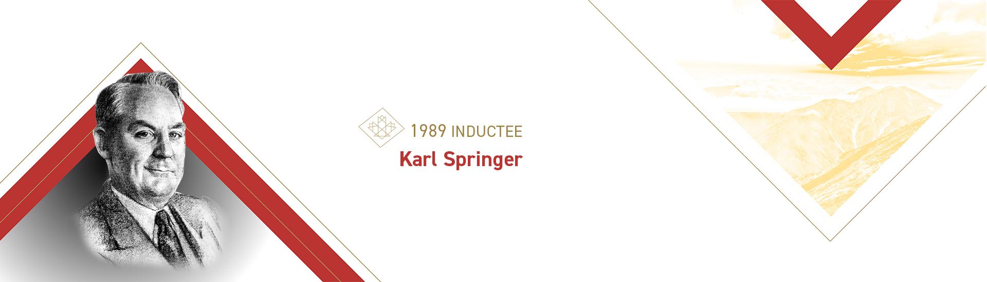 Karl Springer (1899 – 1991)