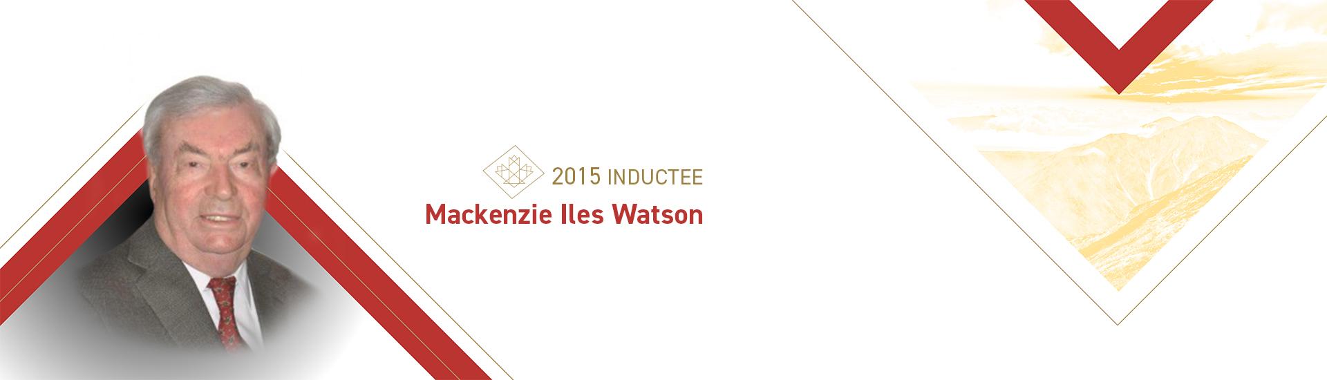 Mackenzie Iles Watson (b. 1935)