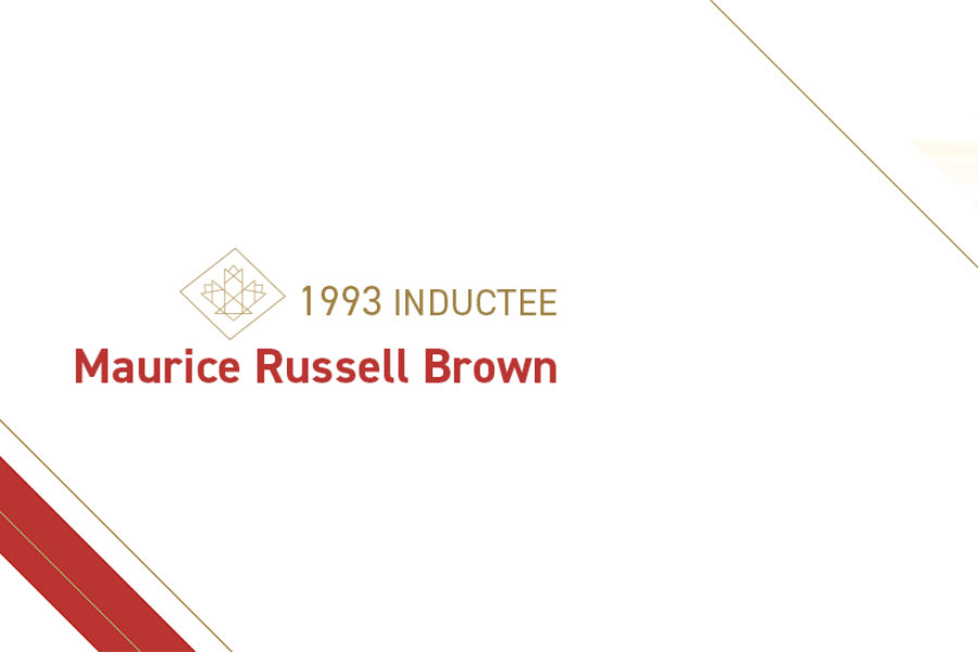 Maurice Russell Brown (1912 – 2008)