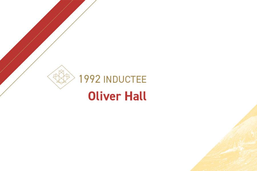 Oliver Hall (1879 – 1954)