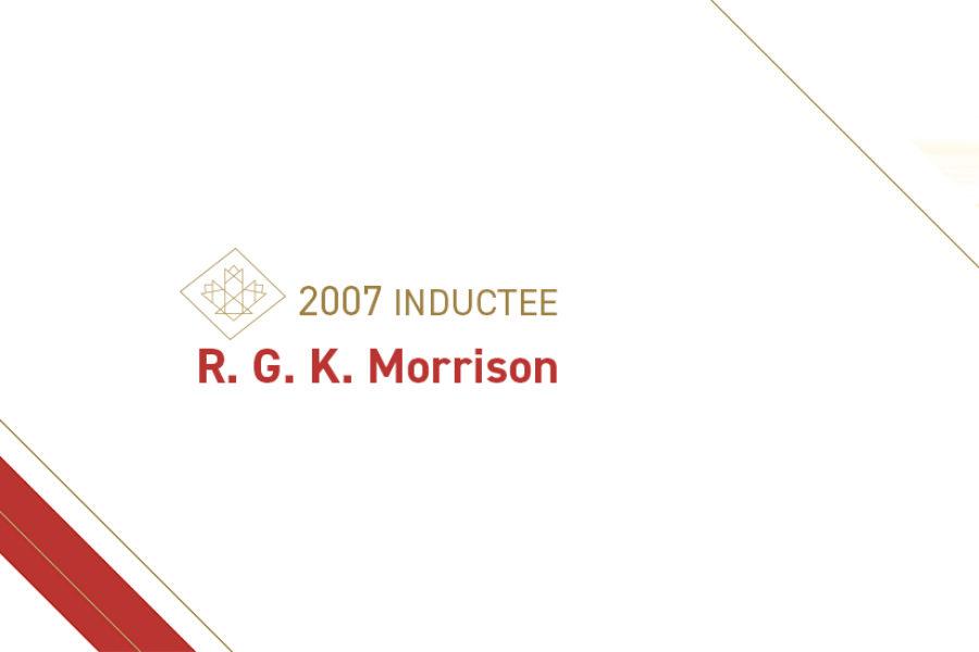 R. G. K. Morrison (1899 – 1983)