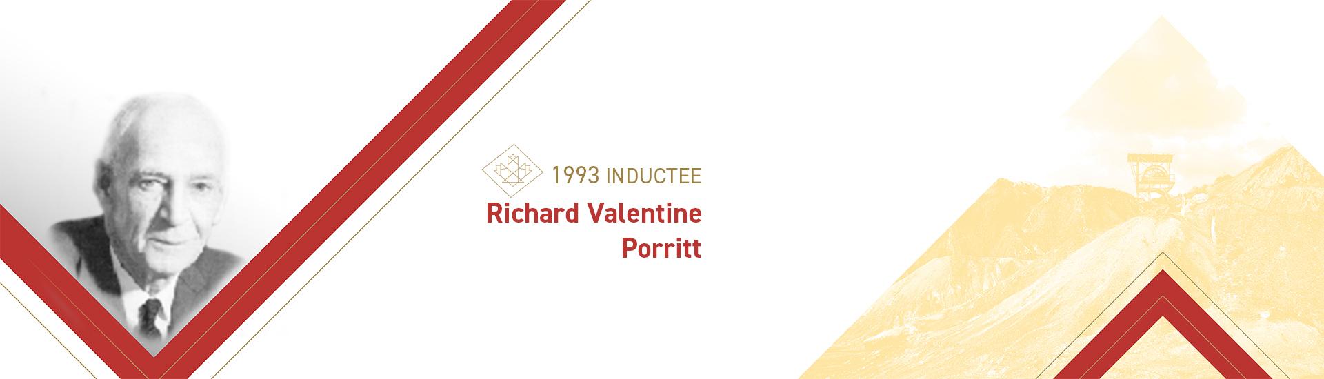 Richard Valentine Porritt (1901 – 1985)