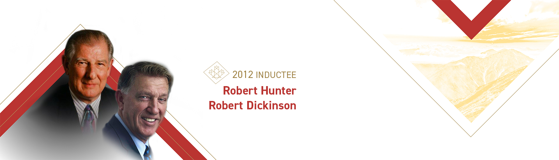 Robert Hunter (1927 – 2007) and Robert Dickinson (b. 1948)