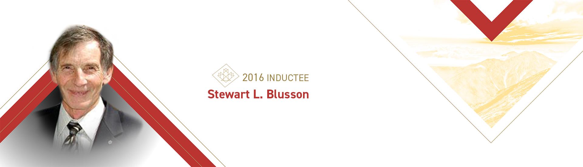 Stewart L. Blusson (1939 –    )