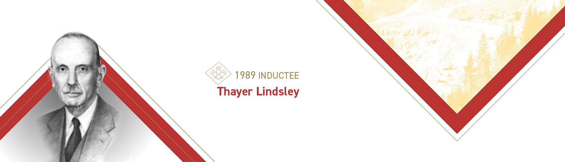 Thayer Lindsley (1882 – 1976)